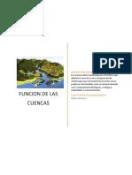 Funciones de Las Cuencas