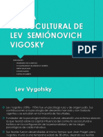 6ta Enfoque Socio Cultural Lev S. Vigotsky