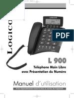 L900 Notice Logicom 900