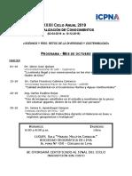 Programa de Conferencias Mes Octubre 2019- II (2)