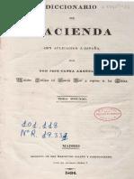 Diccionario de Hacienda (Tomo 2)