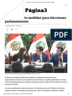Gobierno Dicta Medidas Para Elecciones Parlamentarias _ Página3