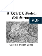 AS Biology  Cell Structure Classified Questions Paper 2