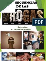 Consecuencias de las drogas  (visual)