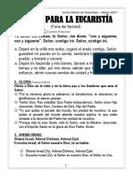 CANTOS PARA LA EUCARISTÍA - CALLAO.docx