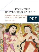 Yishai Kiel - Sexuality in the Babylonian Talmud_ Christian and Sasanian Contexts in Late Antiquity-Cambridge University Press (2016)
