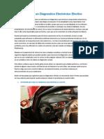 5 Técnicas Para Un Diagnostico Electrónico automotriz Efectivo