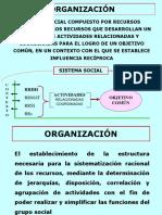 ORGANIZACIÓN  DIAPOSITIVA 2