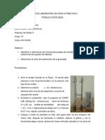 Informe de Laboratorio de Fisica III Practica 2