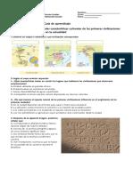 Guia de Las Primeras Civilizaciones de La Historia 2 2018