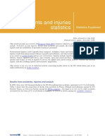 Violents and Injuries Statistic