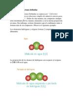 LEY DE LAS PROPORCIONES DEFINIDAS
