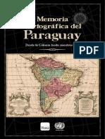 MEMORIA CARTOGRAFICA Paraguay 1