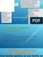Funciones Quimicas Inorganicas