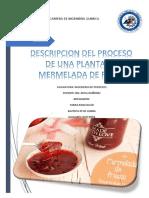 Ing Procesos - Mermelada de Fresa