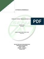 Evidencia 5 Informe Selección Del Tipo de Canal