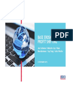 BDO International Tax Webinar Slides BEPS