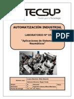 Laboratorio 5 Aplicaciones de Sistemas Neumáticos