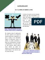 Infografia - Principios de La Etica