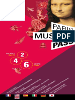 Paris Museum Pass Brochure
