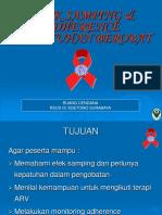 EFEK SAMPING DAN ADHERENCE (KEPATUHAN BEROBAT).ppt