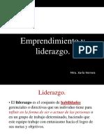 Emprendimiento y Liderazgo1
