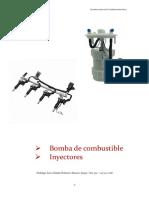 Bomba de Combustible e Inyectores