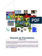 Glosario de psicometria