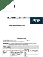 Planificaciones de sesiones