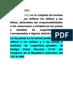 Documento 5, Derecho Penal. Segunda Unidad