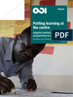 ODI, Putting Learning at the Center