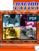 Revista EVALUACIÓN EDUCATIVA No. 1