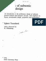 (eBook Aero) - Synthesis of Subsonic Airplane Design - Torenbeek