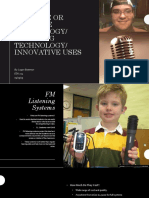 adaptive or assistive technology
