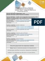 Formato Respuesta - Fase 2 - La Antropología y Su Campo de Estudio