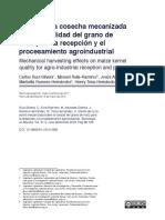 Ruiz-Silvera Et Al 2018 Cosecha Mecanizada y Calidad Grano Maiz Rev TEM