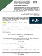 Prova Matemática - Petrobras - CPOAJUSE - 2014