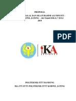 Proposal Halal Bi Halal Fix