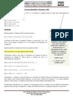 Prova Matemática - Petrobras - CPOAJUSE - 2015