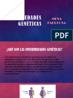 ENFERMEDADES GENÉTICAS