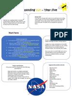 primary science design brief