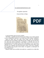 Evangelhos Apócrifos - Carta de Pedro a Felipe