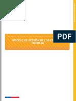 Nota Tecnica N 020 Modelo de Gestion de Los EPP en La Empresa