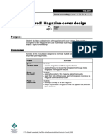 Magazine Cover Guidelines