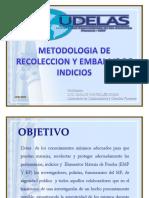 4- Metodologia de Recoleccion y Embalaje de Indicios