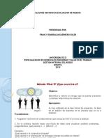 Metodos de Evaluación Integral de Riesgos
