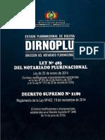 Ley 483 Notariado Plurinacional 2014