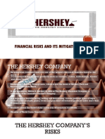 Financial Risks Management - Hershey Company