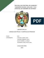 CARGAS ELÉCTRICAS Y CUERPOS ELECTRIZADOS
