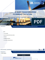 Internal Audit Transformation to Embrace the Future by Kevin Loh